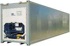 高度40'冷藏集装箱增加