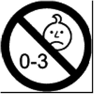 notazione grafica condizionale con un avviso che indica la fascia di età