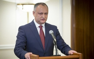 Dodon asked Medvedev to extend the abolition of customs duties