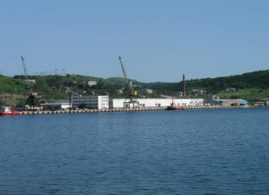 The investor began to expand the port of Zarubino