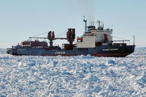 FESCO won a tender for the supply of research stations in India in Antarctica in 2019