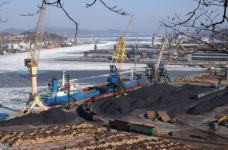 """The court suspended the work of the stevedore """"Port East Gate - Primorskiy Zavod"""" because of complaints about coal dust"""